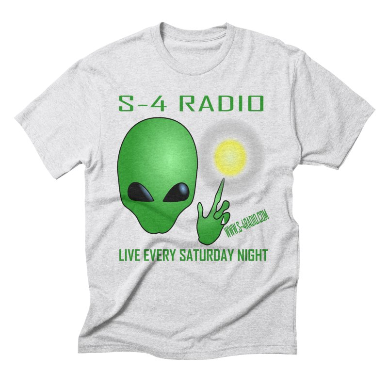 S-4 Radio Men's Triblend T-Shirt by forestmoonparanormal's Artist Shop