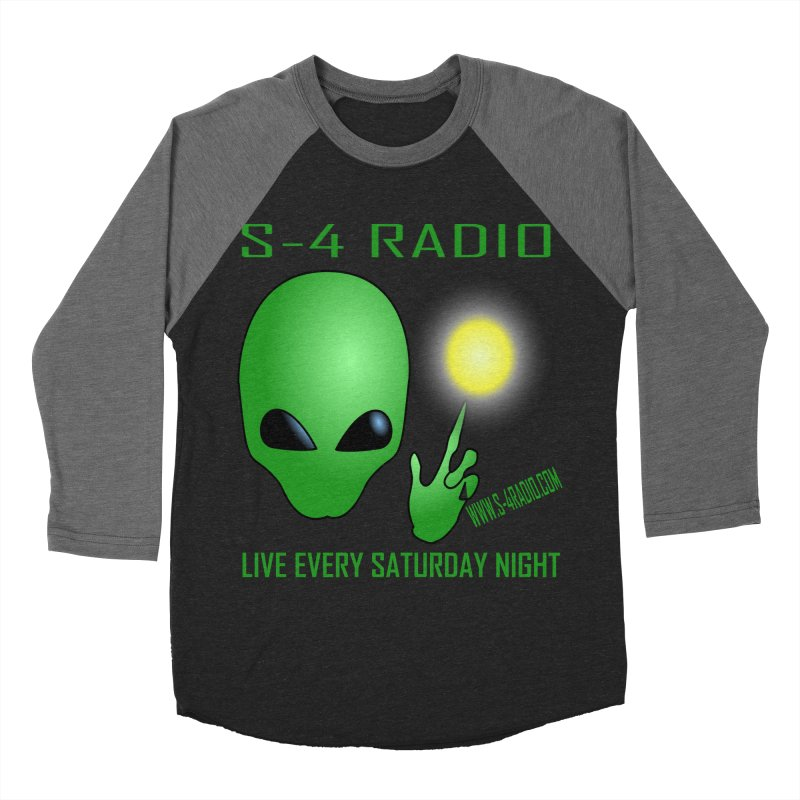 S-4 Radio Women's Baseball Triblend Longsleeve T-Shirt by forestmoonparanormal's Artist Shop