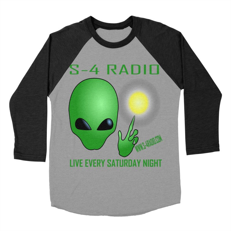 S-4 Radio Men's Baseball Triblend Longsleeve T-Shirt by forestmoonparanormal's Artist Shop