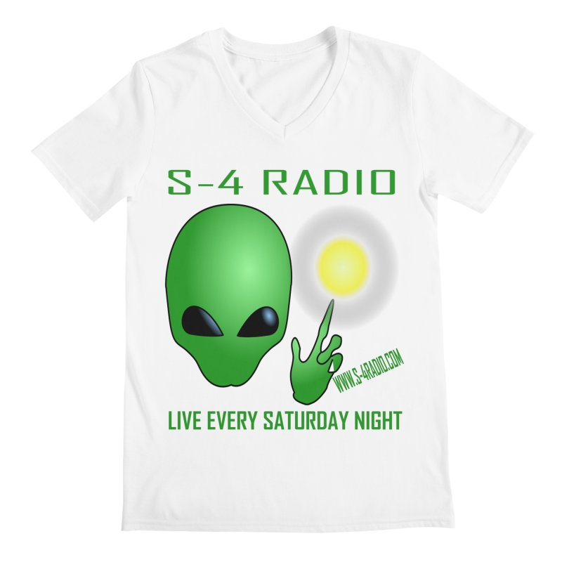 S-4 Radio Men's Regular V-Neck by forestmoonparanormal's Artist Shop