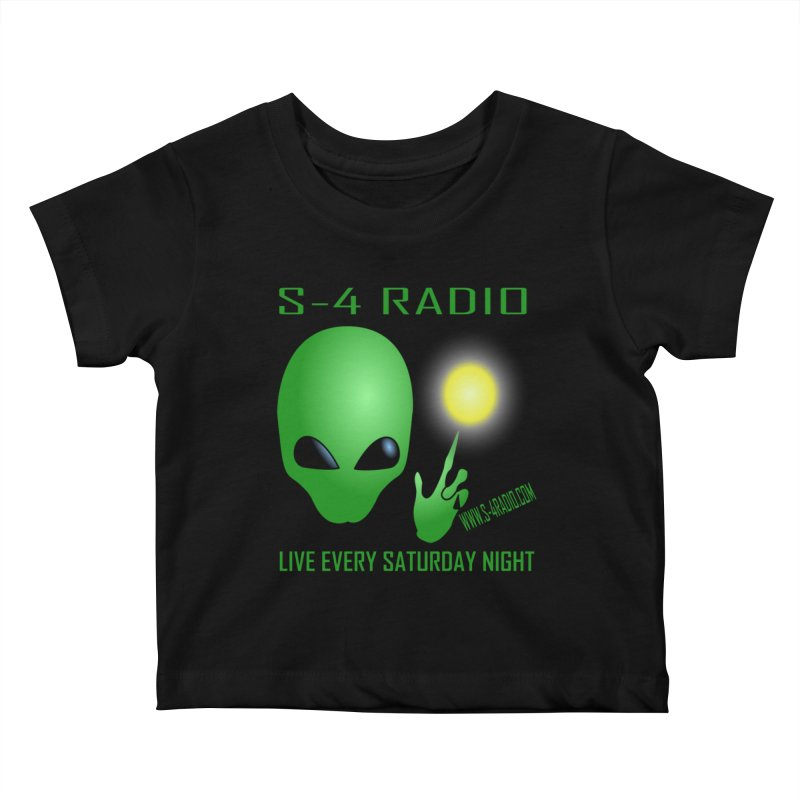 S-4 Radio Kids Baby T-Shirt by forestmoonparanormal's Artist Shop