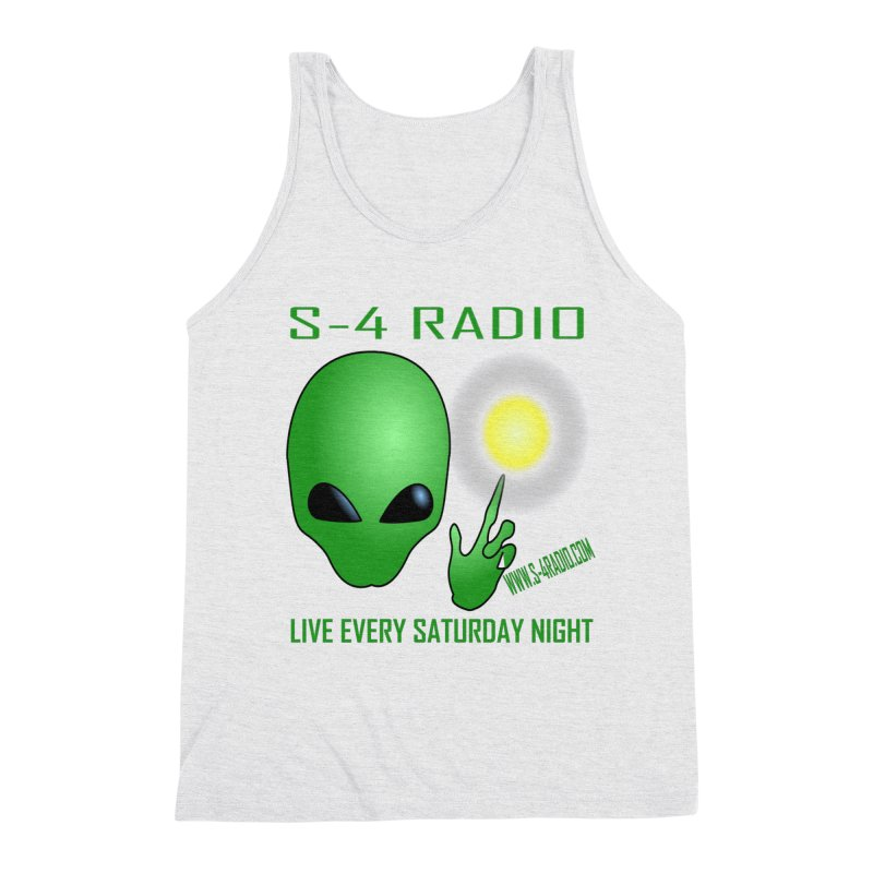 S-4 Radio Men's Triblend Tank by forestmoonparanormal's Artist Shop