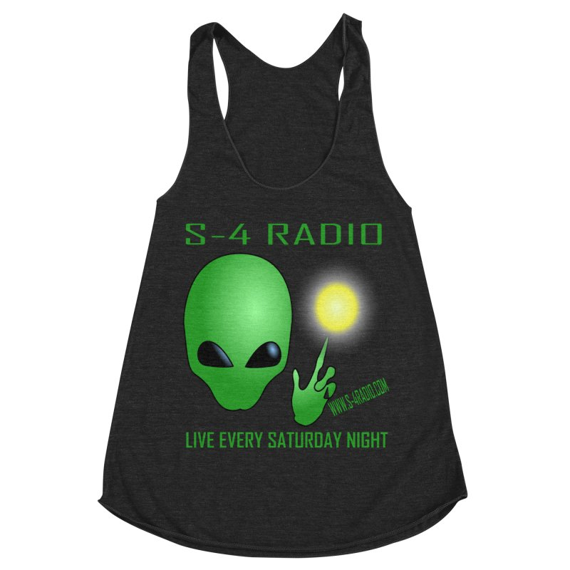 S-4 Radio Women's Racerback Triblend Tank by forestmoonparanormal's Artist Shop