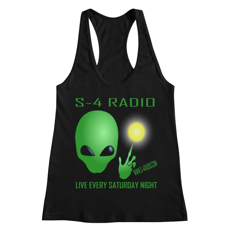 S-4 Radio Women's Racerback Tank by forestmoonparanormal's Artist Shop