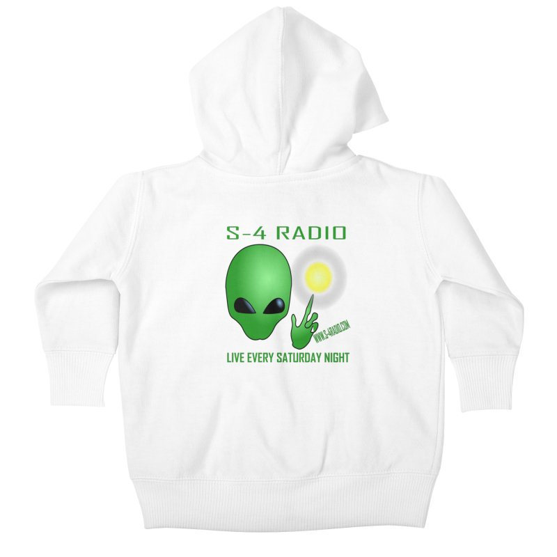 S-4 Radio Kids Baby Zip-Up Hoody by forestmoonparanormal's Artist Shop