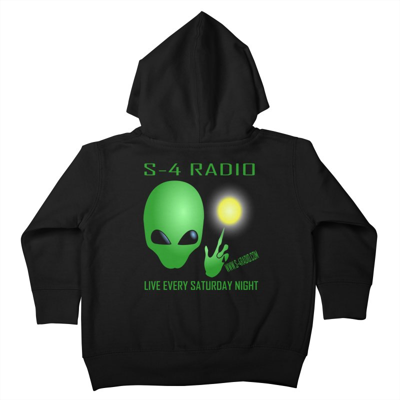 S-4 Radio Kids Toddler Zip-Up Hoody by forestmoonparanormal's Artist Shop