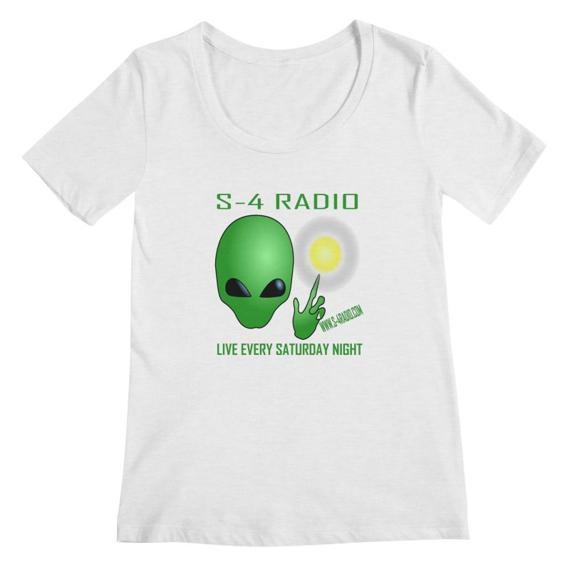 S-4 Radio Women's Regular Scoop Neck by forestmoonparanormal's Artist Shop