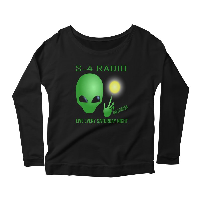 S-4 Radio Women's Scoop Neck Longsleeve T-Shirt by forestmoonparanormal's Artist Shop