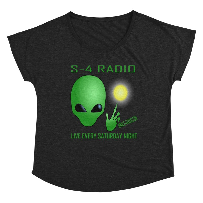 S-4 Radio Women's Dolman Scoop Neck by forestmoonparanormal's Artist Shop