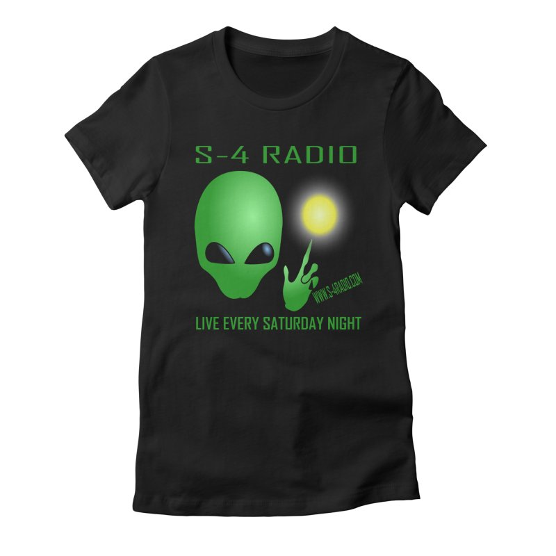 S-4 Radio Women's Fitted T-Shirt by forestmoonparanormal's Artist Shop