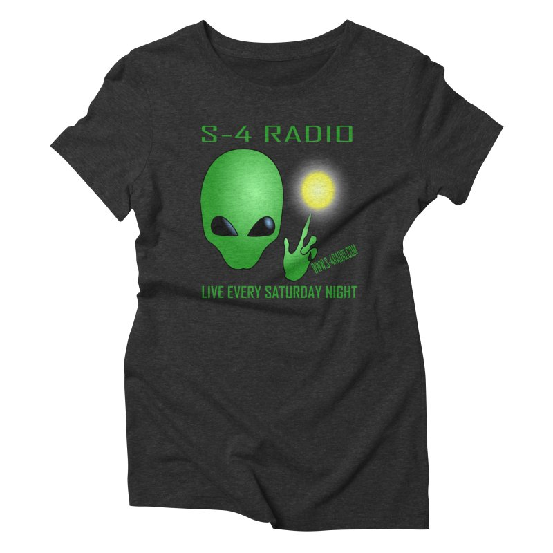 S-4 Radio Women's Triblend T-Shirt by forestmoonparanormal's Artist Shop
