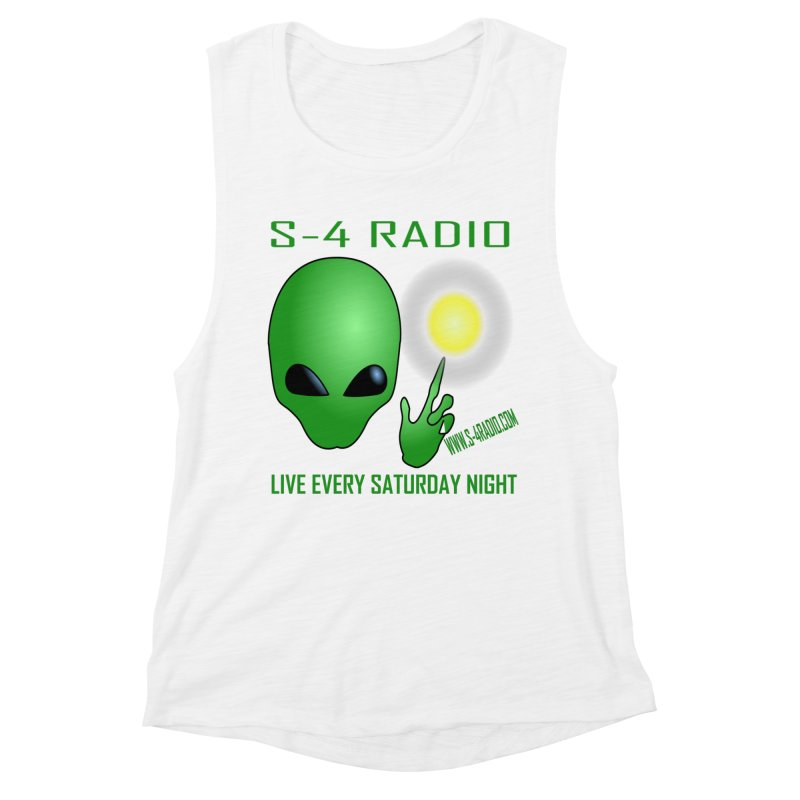 S-4 Radio Women's Muscle Tank by forestmoonparanormal's Artist Shop
