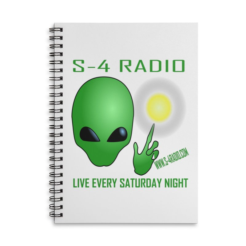S-4 Radio Accessories Lined Spiral Notebook by forestmoonparanormal's Artist Shop