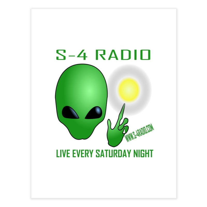 S-4 Radio Home Fine Art Print by forestmoonparanormal's Artist Shop