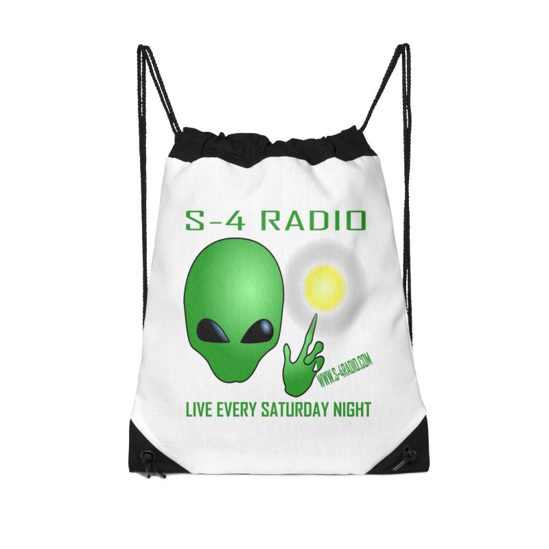 S-4 Radio Accessories Drawstring Bag Bag by forestmoonparanormal's Artist Shop