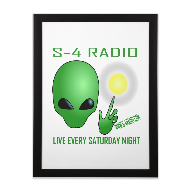 S-4 Radio Home Framed Fine Art Print by forestmoonparanormal's Artist Shop