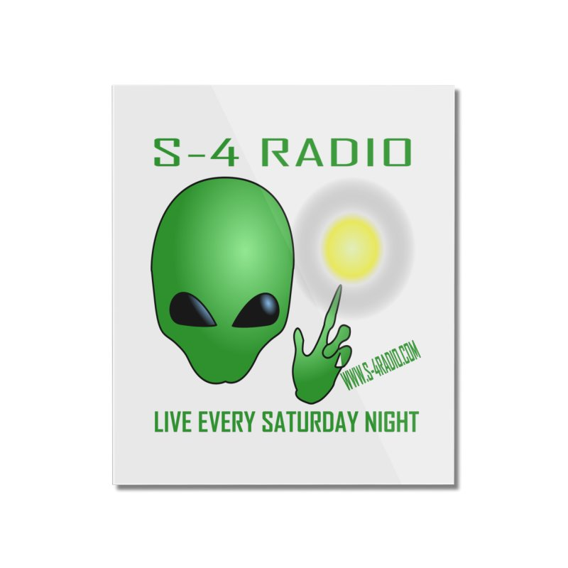 S-4 Radio Home Mounted Acrylic Print by forestmoonparanormal's Artist Shop