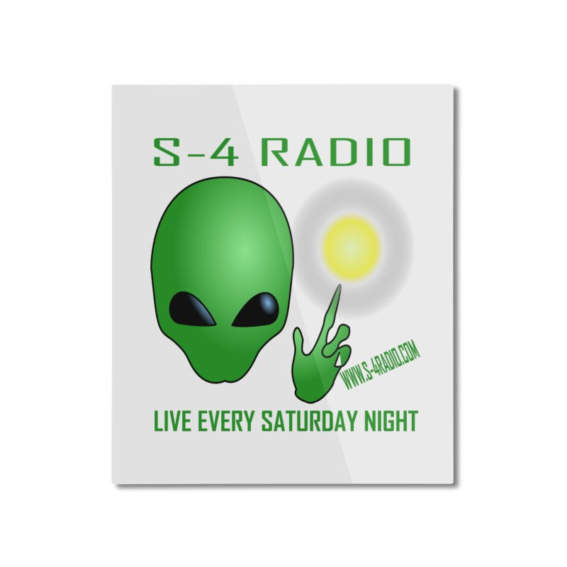 S-4 Radio Home Mounted Aluminum Print by forestmoonparanormal's Artist Shop