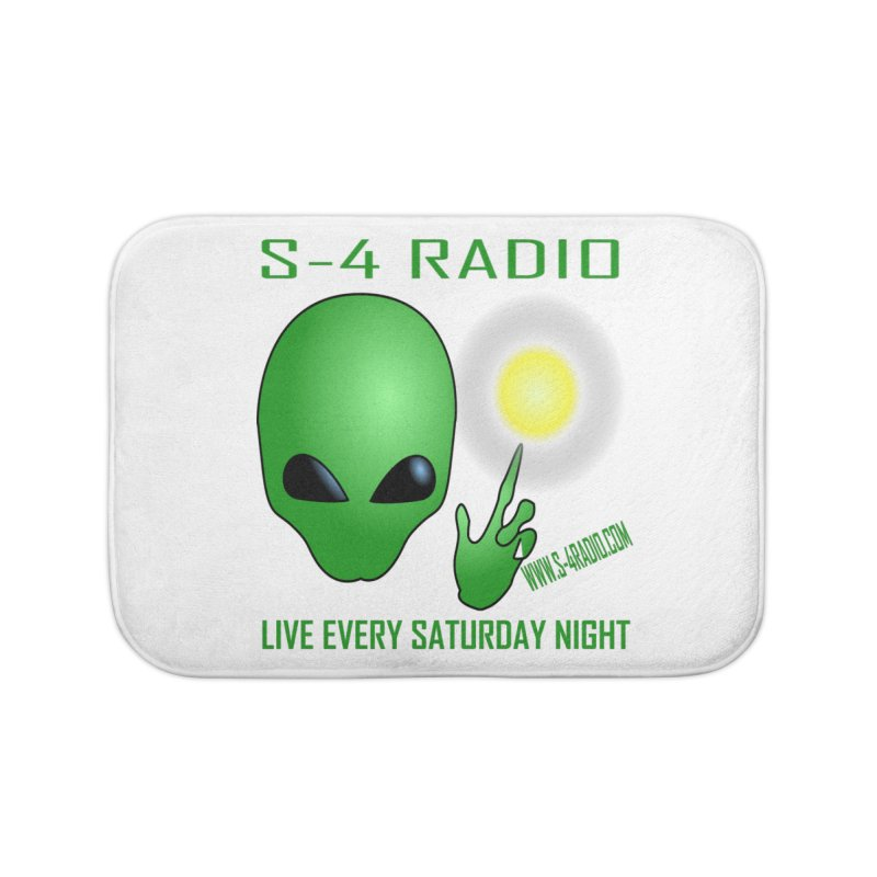 S-4 Radio Home Bath Mat by forestmoonparanormal's Artist Shop