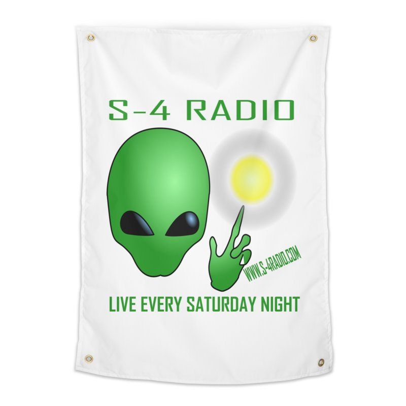 S-4 Radio Home Tapestry by forestmoonparanormal's Artist Shop