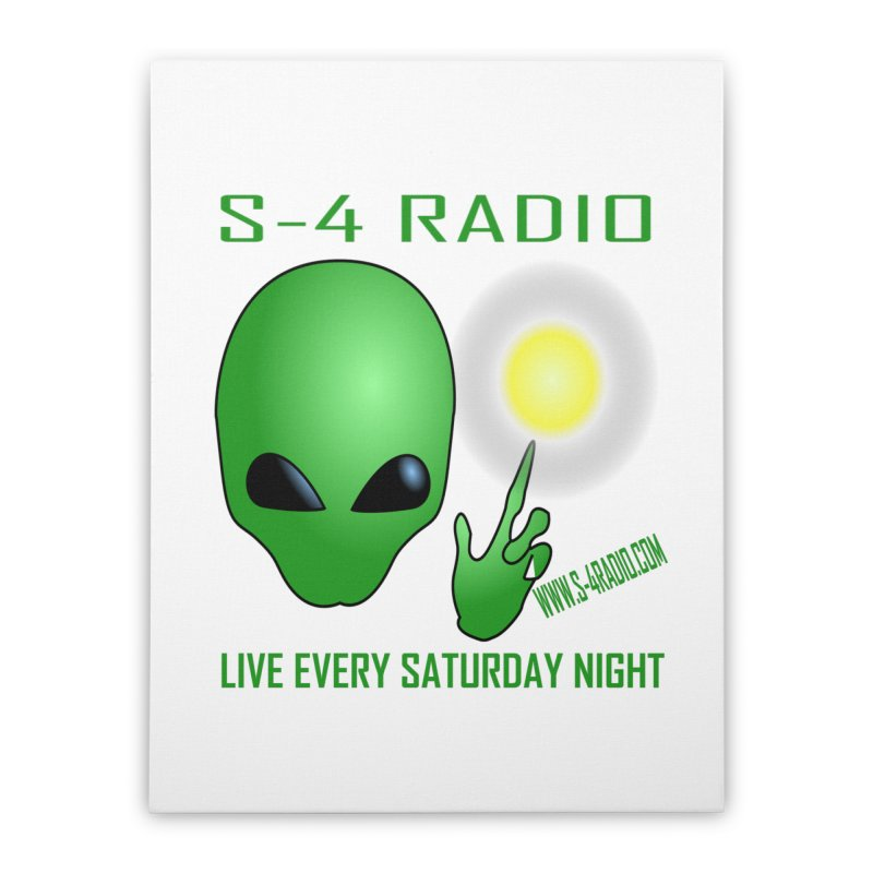 S-4 Radio Home Stretched Canvas by forestmoonparanormal's Artist Shop