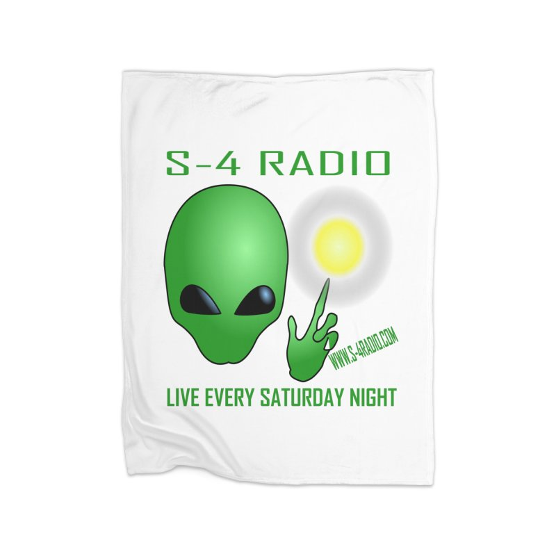 S-4 Radio Home Fleece Blanket Blanket by forestmoonparanormal's Artist Shop