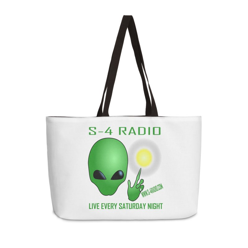 S-4 Radio Accessories Weekender Bag Bag by forestmoonparanormal's Artist Shop