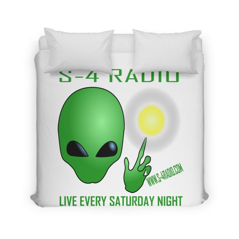 S-4 Radio Home Duvet by forestmoonparanormal's Artist Shop