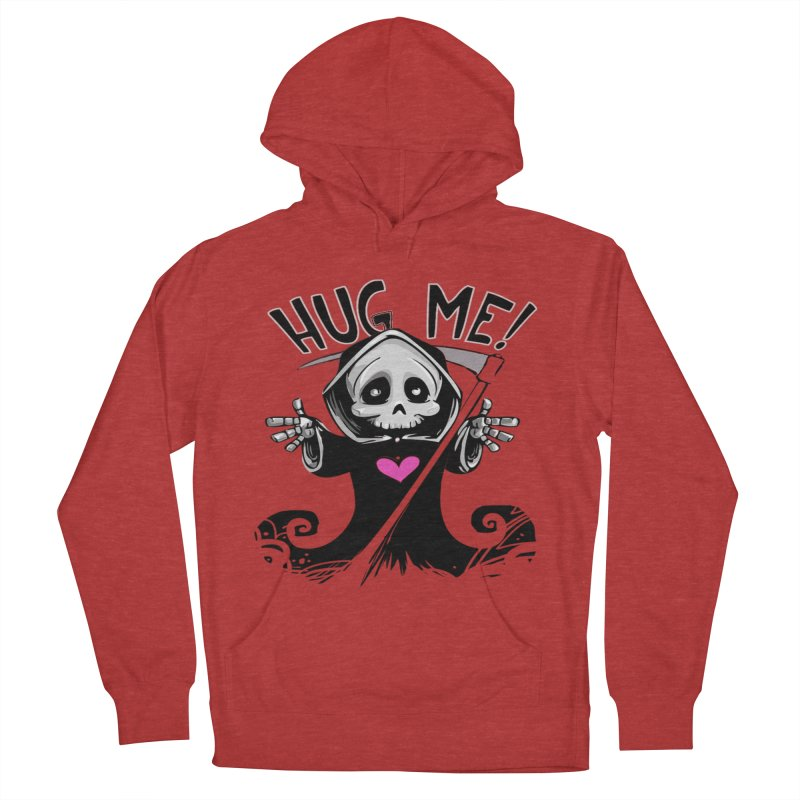 Hug Me! Men's French Terry Pullover Hoody by forestmoonparanormal's Artist Shop