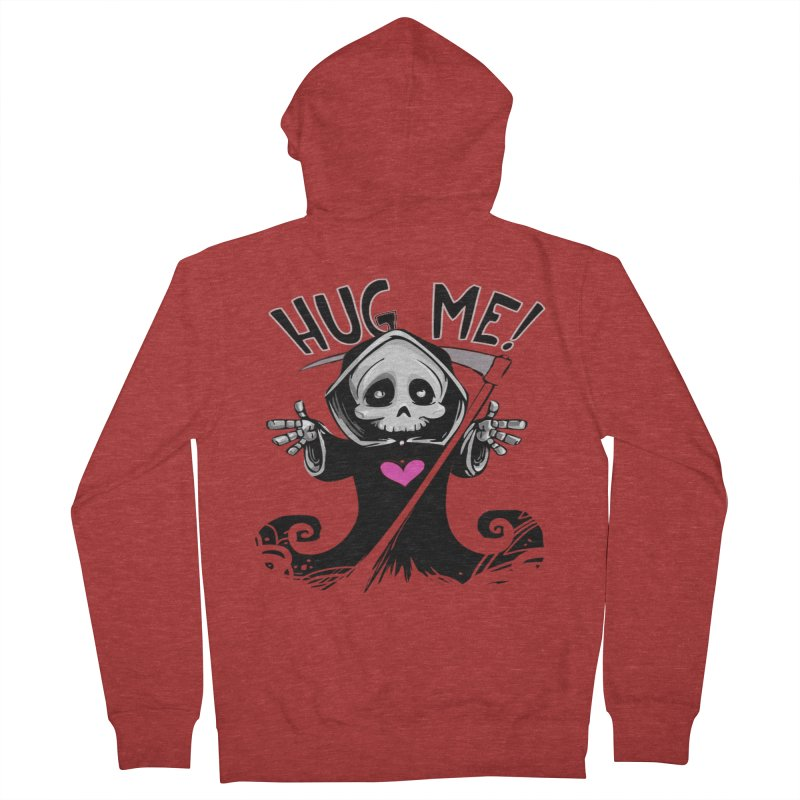 Hug Me! Women's French Terry Zip-Up Hoody by forestmoonparanormal's Artist Shop