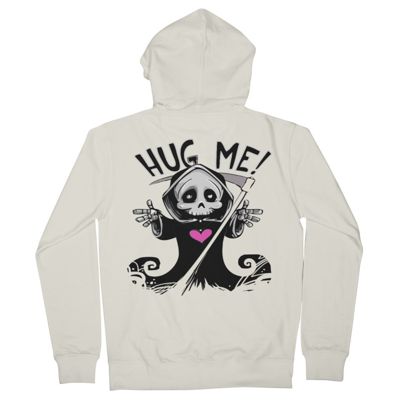 Hug Me! Men's French Terry Zip-Up Hoody by forestmoonparanormal's Artist Shop