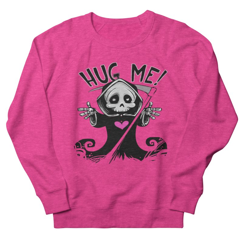 Hug Me! Men's French Terry Sweatshirt by forestmoonparanormal's Artist Shop