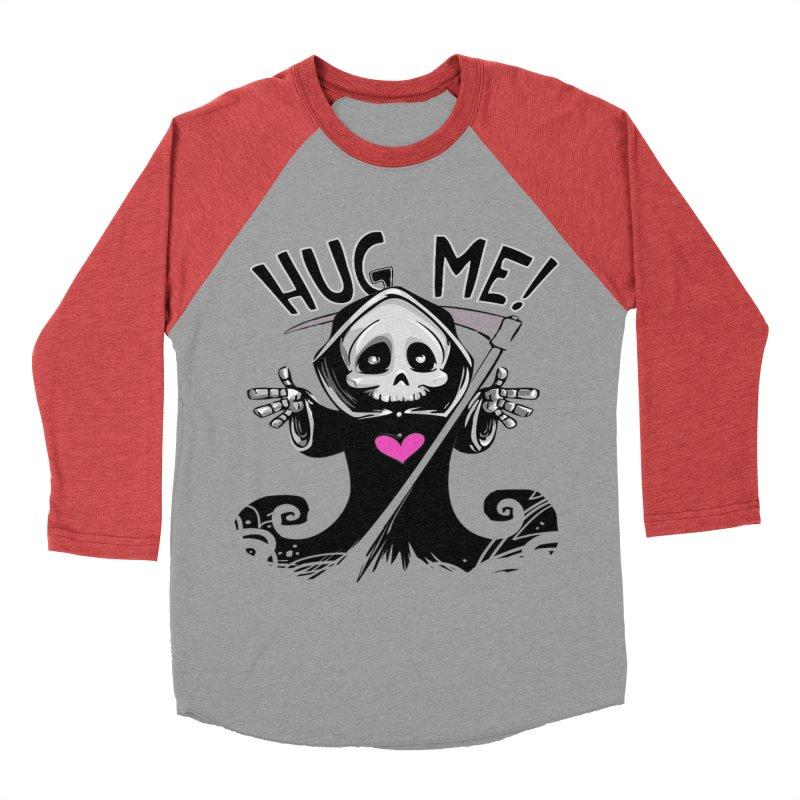 Hug Me! Men's Baseball Triblend Longsleeve T-Shirt by forestmoonparanormal's Artist Shop