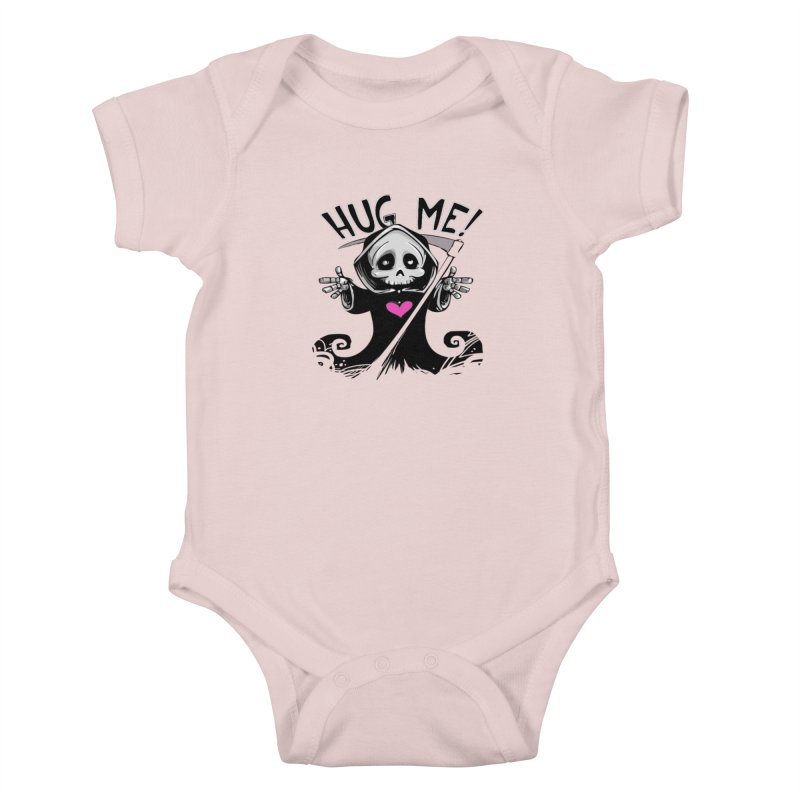 Hug Me! Kids Baby Bodysuit by forestmoonparanormal's Artist Shop
