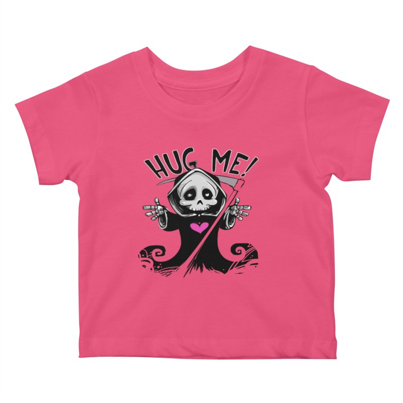 Hug Me! Kids Baby T-Shirt by forestmoonparanormal's Artist Shop