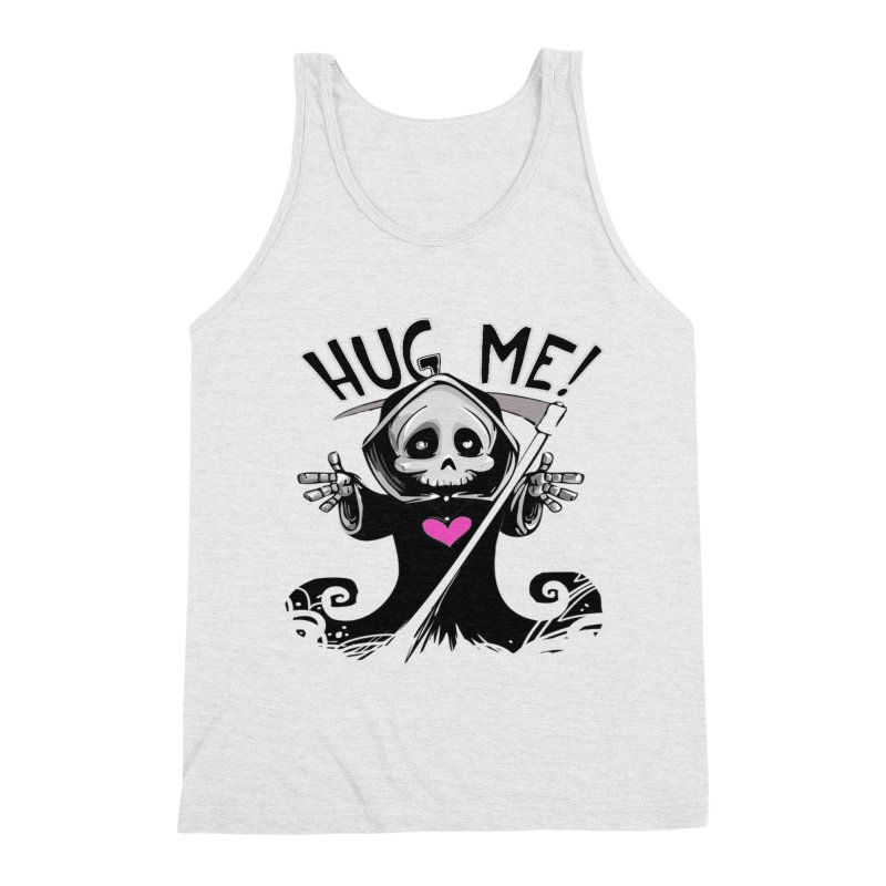 Hug Me! Men's Triblend Tank by forestmoonparanormal's Artist Shop