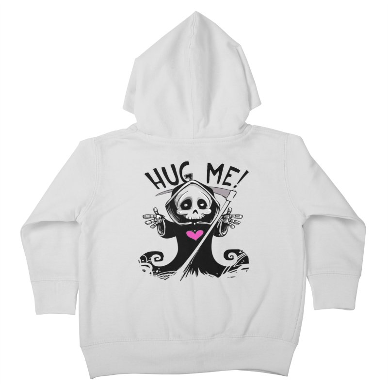 Hug Me! Kids Toddler Zip-Up Hoody by forestmoonparanormal's Artist Shop