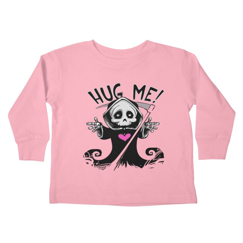 Hug Me! Kids Toddler Longsleeve T-Shirt by forestmoonparanormal's Artist Shop