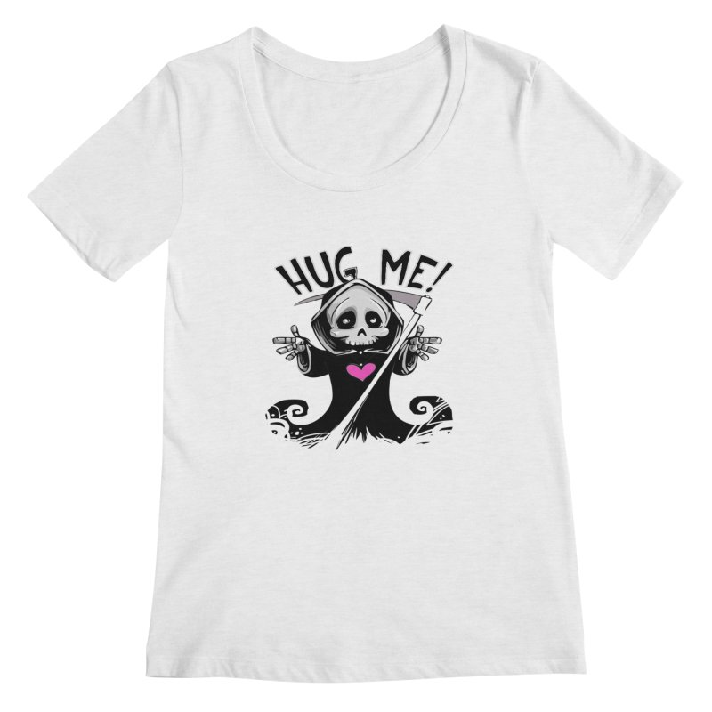 Hug Me! Women's Regular Scoop Neck by forestmoonparanormal's Artist Shop