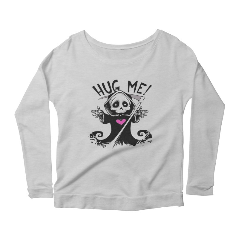 Hug Me! Women's Scoop Neck Longsleeve T-Shirt by forestmoonparanormal's Artist Shop