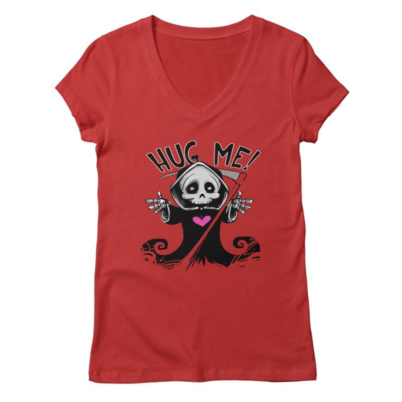 Hug Me! Women's Regular V-Neck by forestmoonparanormal's Artist Shop