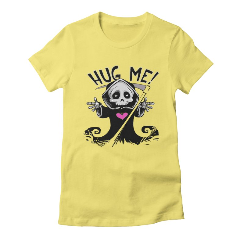 Hug Me! Women's Fitted T-Shirt by forestmoonparanormal's Artist Shop