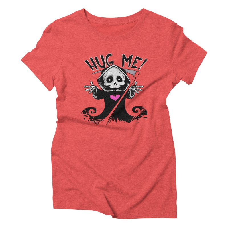 Hug Me! Women's Triblend T-Shirt by forestmoonparanormal's Artist Shop