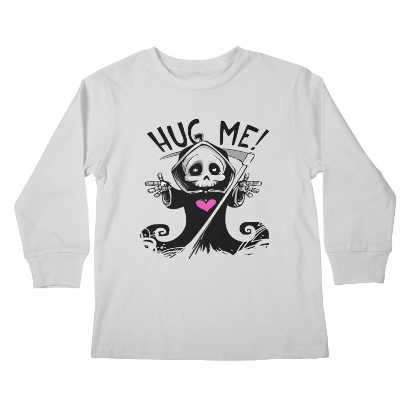 Hug Me! Kids Longsleeve T-Shirt by forestmoonparanormal's Artist Shop