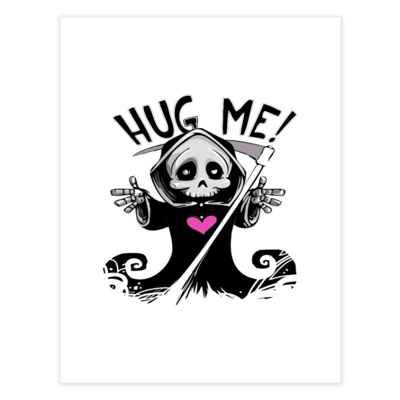 Hug Me! Home Fine Art Print by forestmoonparanormal's Artist Shop