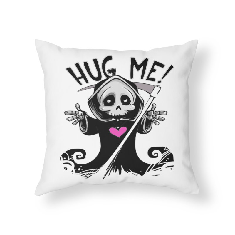 Hug Me! Home Throw Pillow by forestmoonparanormal's Artist Shop