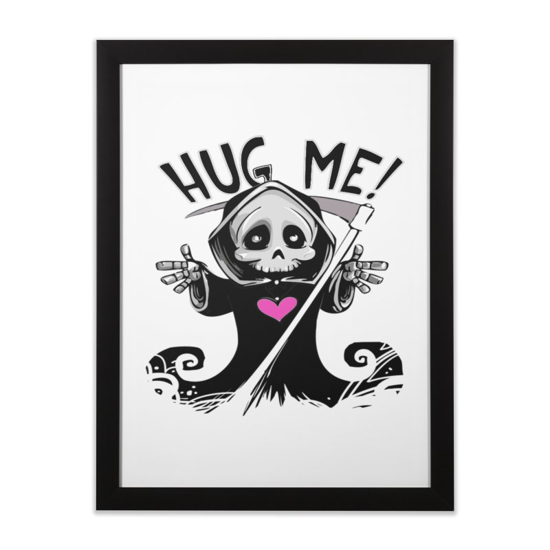 Hug Me! Home Framed Fine Art Print by forestmoonparanormal's Artist Shop