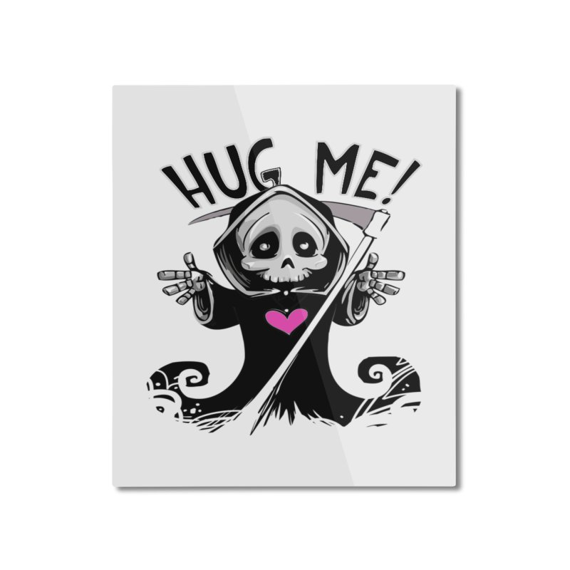 Hug Me! Home Mounted Aluminum Print by forestmoonparanormal's Artist Shop