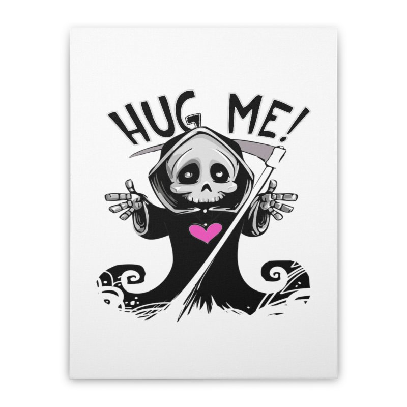 Hug Me! Home Stretched Canvas by forestmoonparanormal's Artist Shop