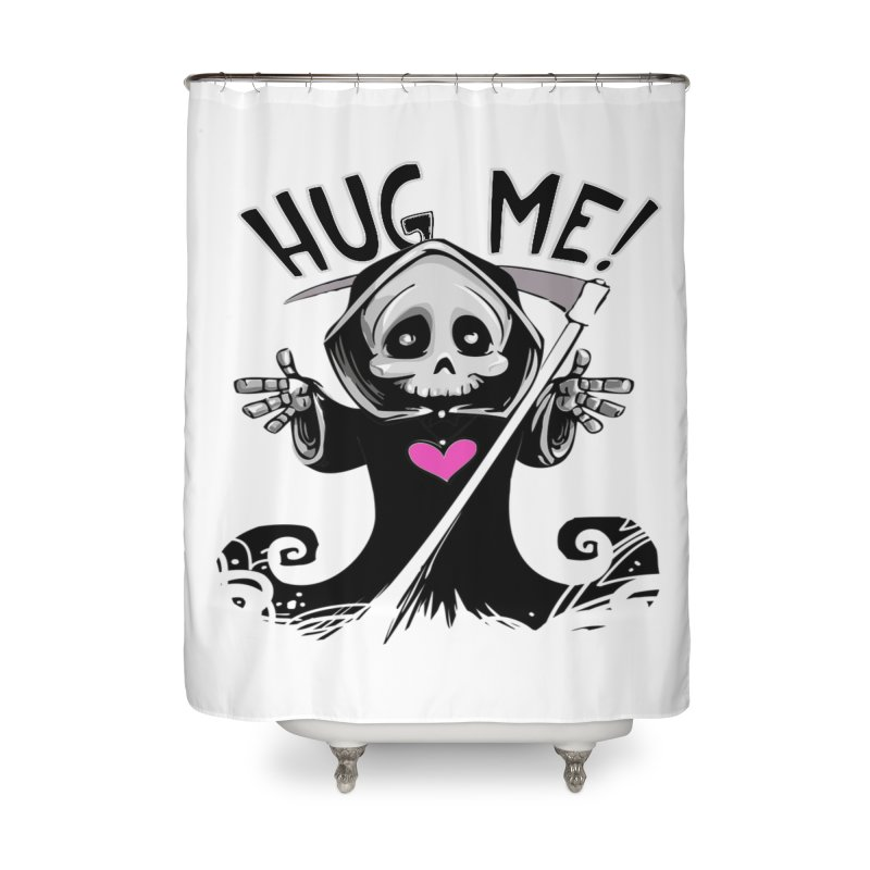 Hug Me! Home Shower Curtain by forestmoonparanormal's Artist Shop